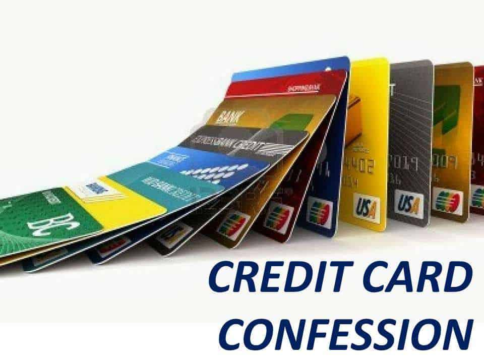 The Cost of Credit Card Confession